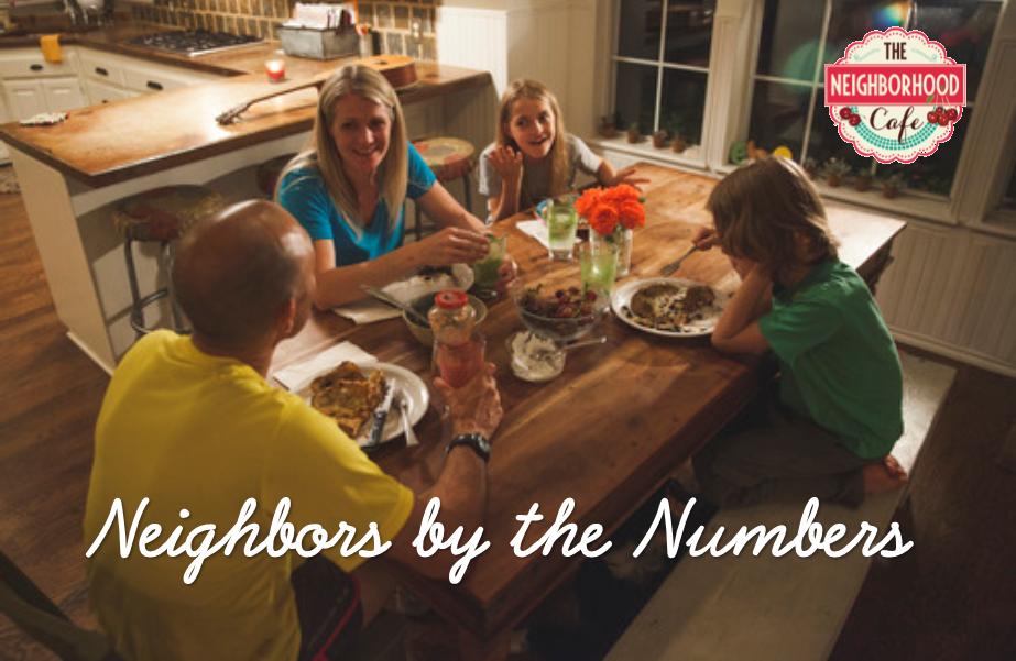Neighbors by the Numbers