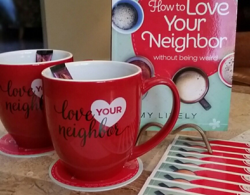 Anniversary giveaway how to love your neighbor