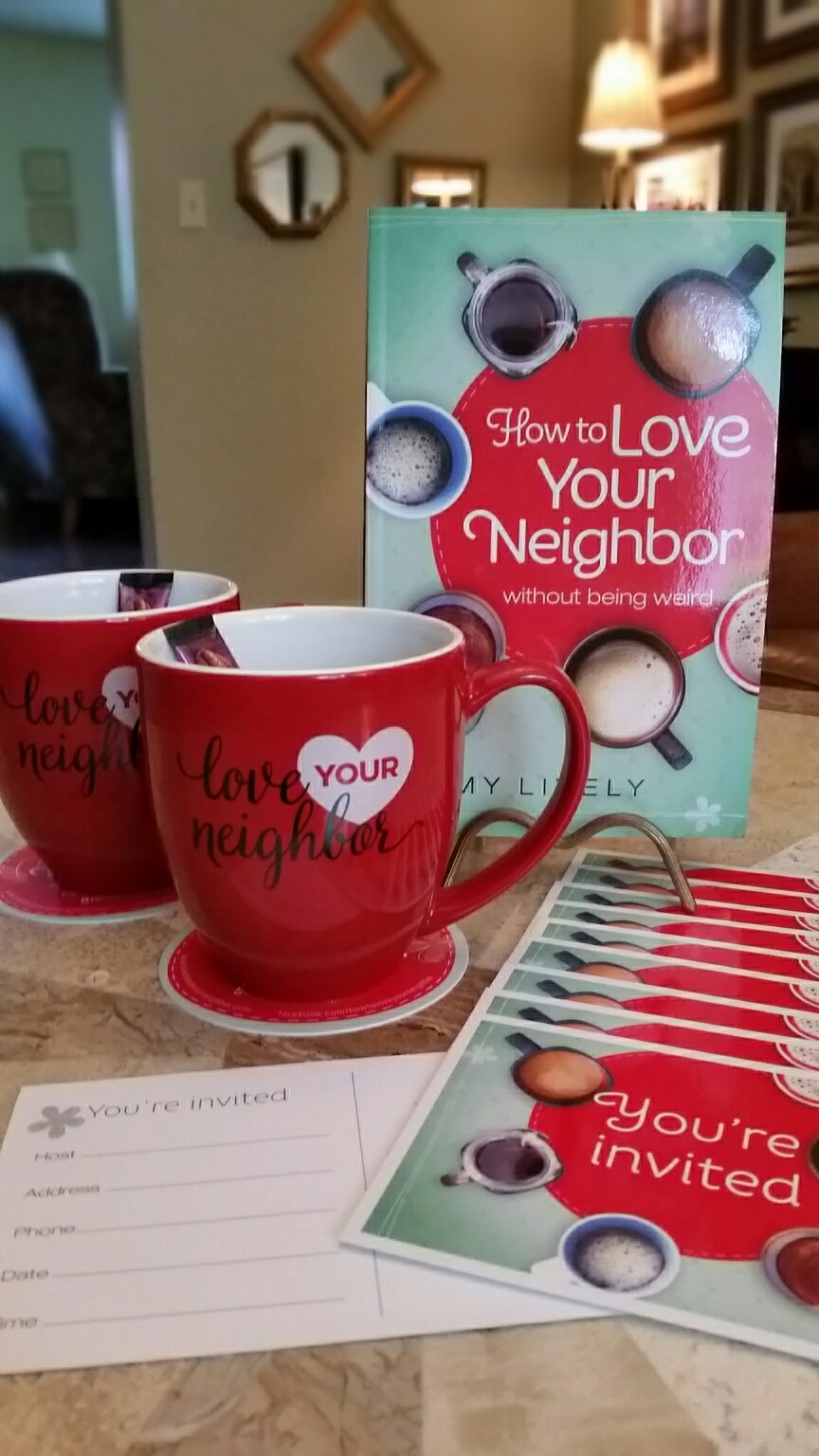 Tour giveaways how to love your neighbor